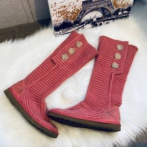 🤗NEW LISTING🤗 pink cardy Ugg boots